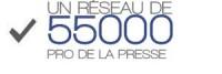 Un réseau de 55000 professionnels de la presse
