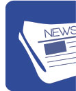 Icône journal - veille médiatique